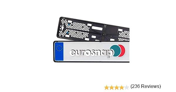 Sans barre publicitaire Support de plaque dimmatriculation Slimline Aux normes autrichiennes fin et d/écent slov/ènes et europ/éennes Prix /à l/'unit/é