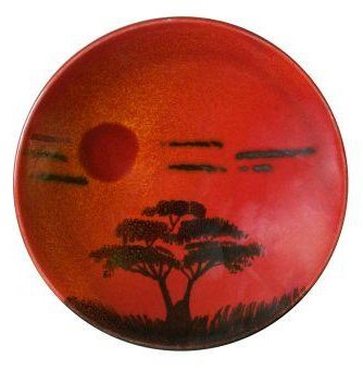 Poole Pottery African Sky Plaque 25cm