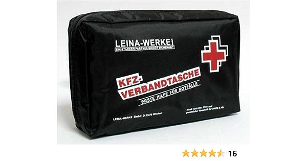 Leina Werke Kfz Verbandstasche C Din 13164 Erste Hilfe Auto