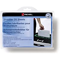 Rexel Shredder Oil Sheets A5 (Pack of 12)