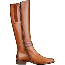 Gabor Shoes Gabor Fashion, Bottes Hautes Femme, Marron (Whisky (Effekt) 24), 40.5 EU