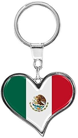 Premium Schlüsselanhänger in Herz - Form