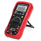 Dr.Meter MS88 - Multímetro digital con rango automático/manual, pantalla LCD, 4000 cuentas, retroiluminación, NCV, voltímetro, amperímetro, óhmetro