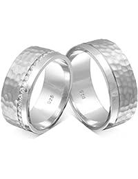 Partnerringe silber mit stein  Suchergebnis auf Amazon.de für: Silber - Ringe / Herren: Schmuck