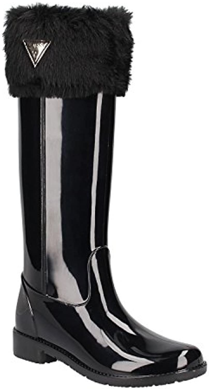 Guess Damen Ribe Hohe Stiefel 2018 Letztes Modell  Mode Schuhe Billig Online-Verkauf
