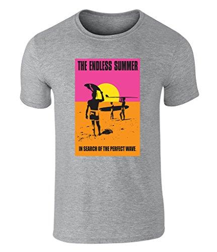 the-endless-summer-surf-classic-unisex-t-shirt-offiziell-lizenziert-von-bruce-brown-films-grau-large