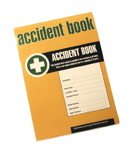 Price comparison product image DDA HSE Compliant Business / Workplace Accident Injury Record Book