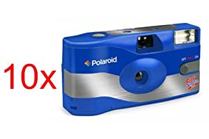 POLAROID appareil photo jetable flash APN 27 poses 400 iso par 10