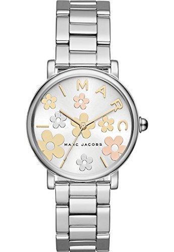 Marc-Jacobs-Damen-Armbanduhr-Quarz-One-Size-silberfarben-wei