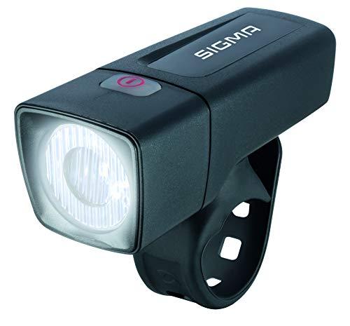 Sigma Sport LED Batterie Fahrradbeleuchtung AURA 25/CUBIC SET, 25 LUX/400 m Sichtbarkeit, batteriebetriebene Fahrradlampe + Rücklicht, StVZO zugelassen, Schwarz - 5