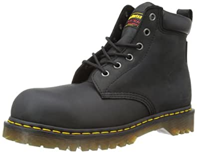 Dr marten 39 s forge men 39 s safety boots black 7 uk for Amazon dr martens