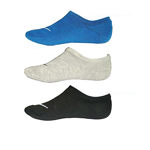 Tom & Gee Men's Cotton Loafer Socks, Pack of 3 multi color (Blue,Grey,Black)  available at amazon for Rs.249