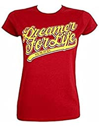Official Merchandise - T-shirt - Femme rouge Red XXL