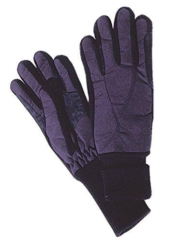 Reitsport Amesbichler Handschuhe mit Fleece und Spandexstrickeinsatz, Gr. XS, schwarz