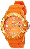 Ice Watch - SI.OE.B.S.09 - Montre Homme - Quartz Analogique - Cadran Orange - Bracelet Silicone Orange - Grand Modèle