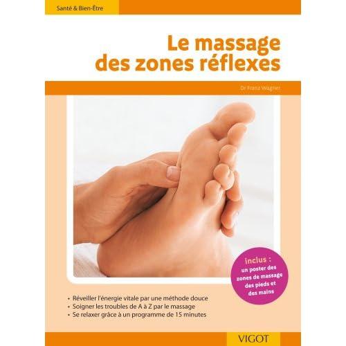 Le massage des zones de réflexes