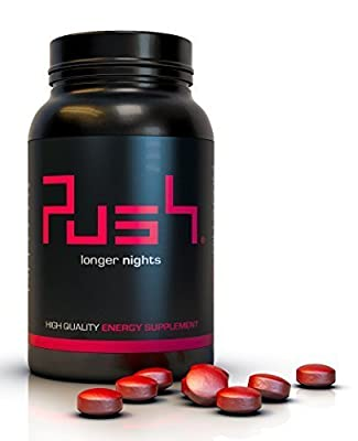 PUSH® - Energy Pills - #1 Rated Energy Booster and Focus Enhancer from SnS Corp.