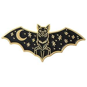 Ancjiape Fashion Bat Brooch, Night Bat Brooch Pin Badge Jacket Backpack Hat Dekoration Damen's Fashion Jewelry Geschenke Accessoires s üß