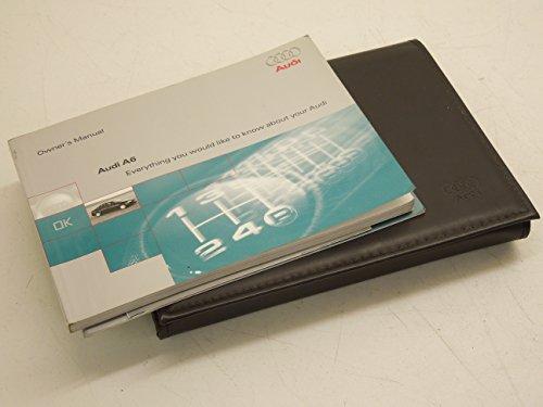 Audi A6 C5 Saloon Handbook and Wallet 12/1997>
