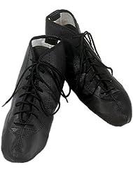DEPICE Chaussures d'entraînement en cuir Noir