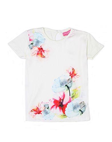 London Fog Girls Casual T-Shirt(_8907174057170_White_5-6 Years_)