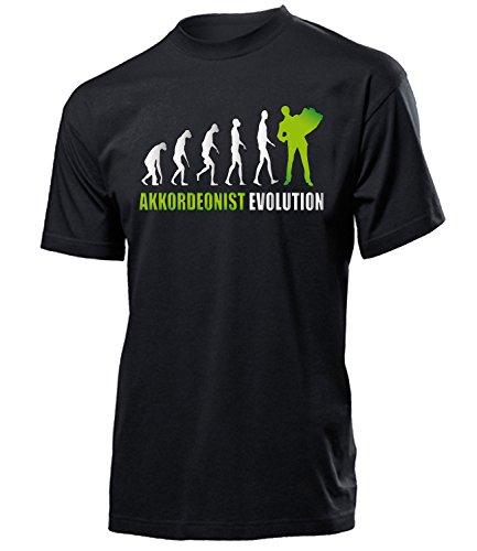 AKKORDEONIST EVOLUTION 4587(H-SW-Weiss-Grün) Gr. XXL