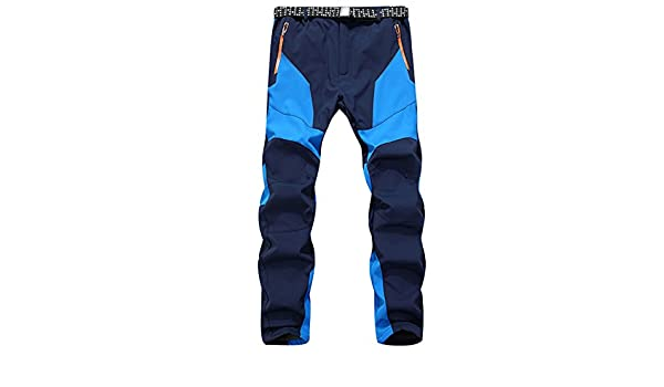 d46e138304239 Alamor Men's Outdoor Patagonia Twill Cargo Climbing Pants Color Matching  Fleece Lined Warm Trousers-#01-L: Amazon.co.uk: Kitchen & Home