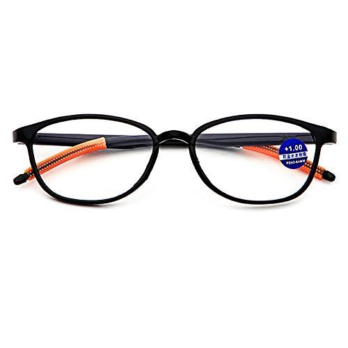 ed2c4cf11c VEVESMUNDO Gafas de Lectura o Presbicia Graduadas Filtros Luz Azul Hombre  Mujer con Marco Flexibles Anti-reflejantes Para Ordenador 0 1.0 1.5 2.0 2.5  3.0 ...