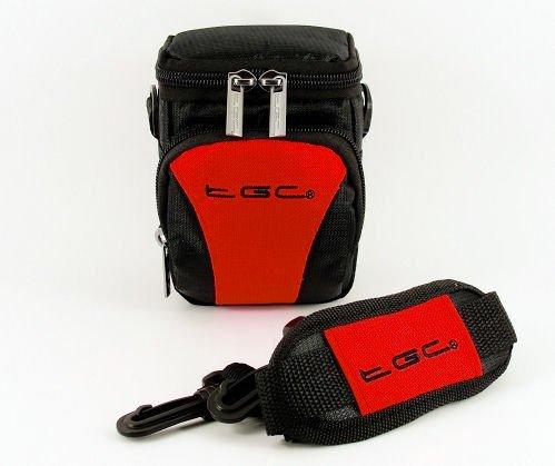il-tgc-rosso-nero-anti-shock-custodia-per-fotocamera-canon-powershot-sx170-is-nero