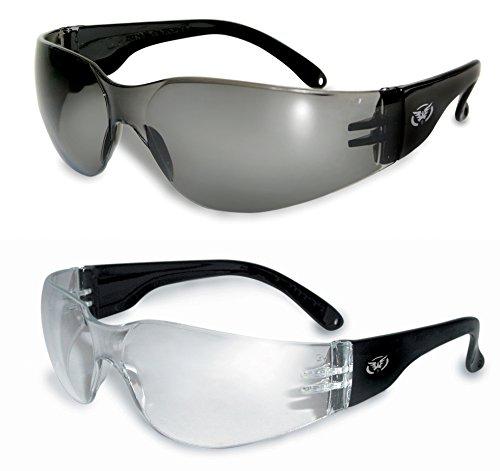 Global Vision Herren Sonnenbrille Schwarz Black Bows