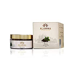 Alanna Naturally Beautiful Face & Body Scrub with Coconut and Olive Oil White Tea & Caramel for Men & Women - 50g
