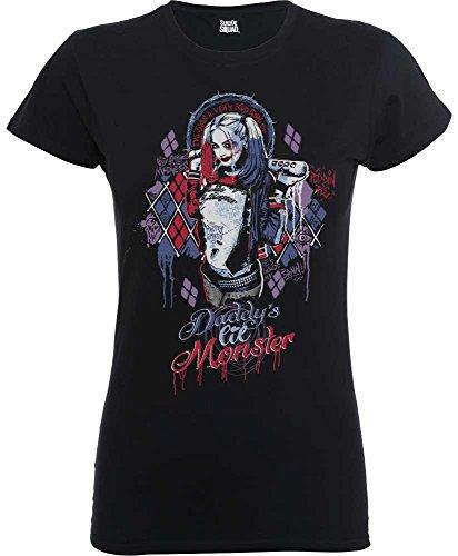 Lil Monster - DC Comics Damen T-Shirt Suicide Squad