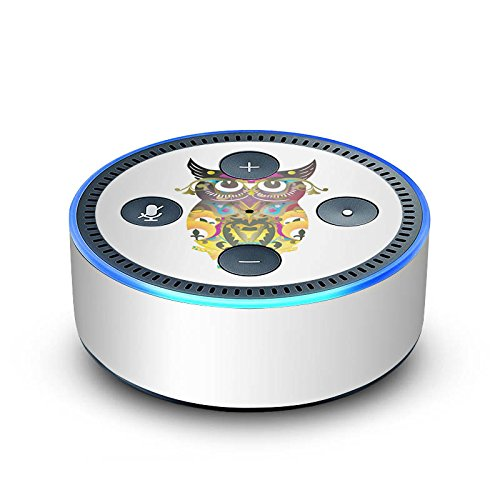 amazon Echo Dot 2.Generation Folie Skin Sticker aus Vinyl-Folie Decorative Owl Owl Eule