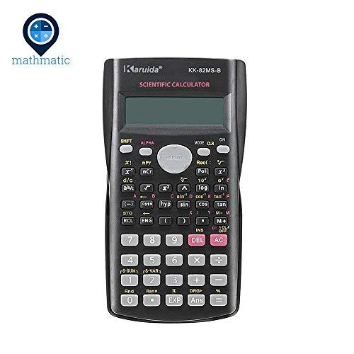 mathmatic–Handheld Multifunktions-2Line Display-Wissenschaftlicher Taschenrechner 82ms-a tragbar Multifunktional Taschenrechner
