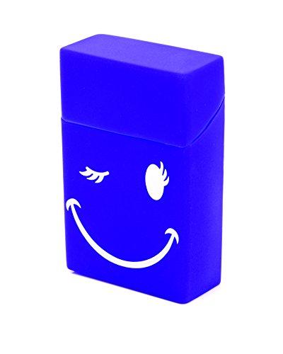 astuccio-per-sigarette-in-sigarette-box-20-pacchetti-di-sigarette-smiley-blu-in-silicone-lk-trend-st