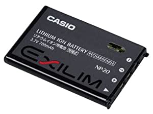 Casio NP-20DBD Batterie Lithium-Ion pour appareil photo numérique Exilim