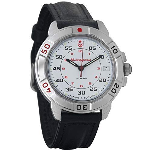 Vostok Komandirskie 2414 Reloj mecanico militar ruso #431171