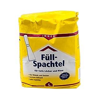 FLT 0973 Füllspachtel Innen Pulver Weiß 5kg (DLB42)