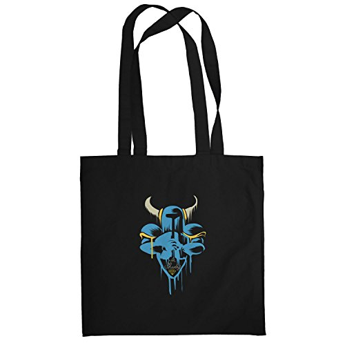 Texlab–For SHOV ELRY–sacchetto di stoffa Nero