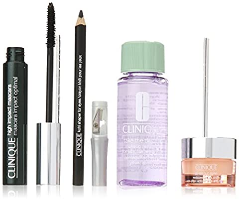 CLINIQUE EYE DEFINITION (KHOL +HIGH IMPACT MASCARA + ALL ABOUT EYES) SET REGALO