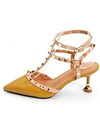 Sandali Donna Scarpe Lusso Infradito dita dei piedi SANDALO 0009 Rosa 38