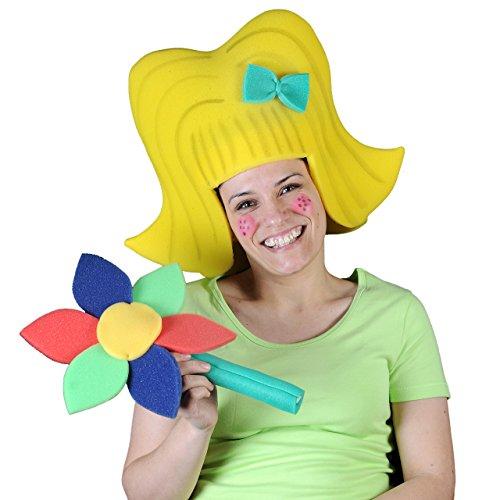 Pazzo gommapiuma parruca