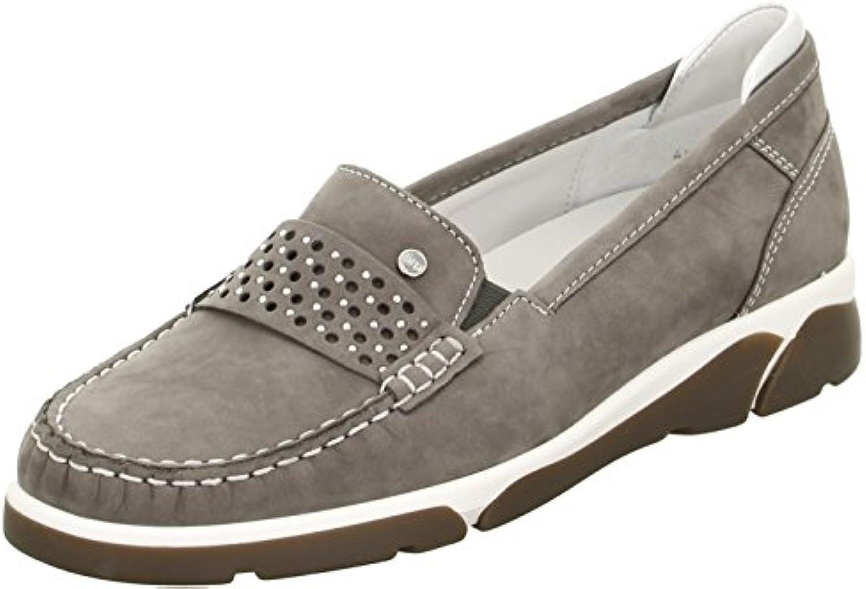 Donne Mocassino ARA grigio     argentoo in pelle larghezza-H in formato 37-41 | Consegna Immediata  | Scolaro/Signora Scarpa  9f7030