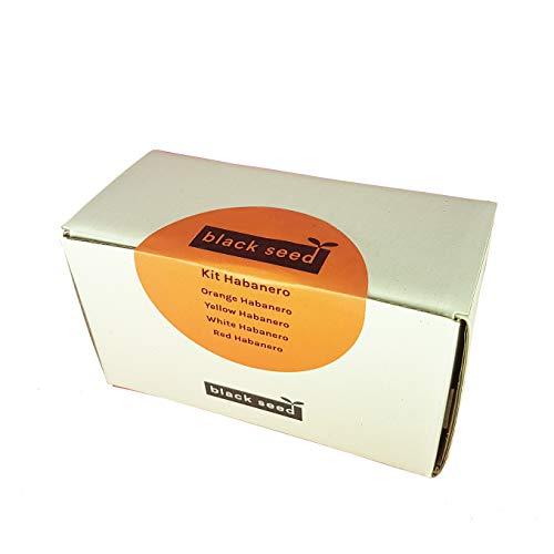 kit habanero - black seed - kit di semi - starter kit - varietà peperoncino