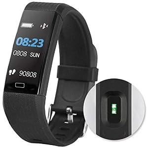 D-Parts Fontastic Bluetooth Smartwatch FontaFit 140CH, schwarz