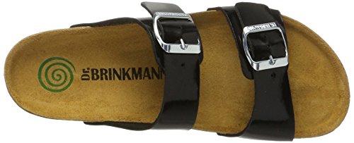 Dr. Brinkmann 701099, Sabot Donna nero (nero)