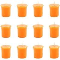 pajoma Votivkerze Orange, durchgefärbte Duftkerze, 12er Pack preisvergleich bei billige-tabletten.eu