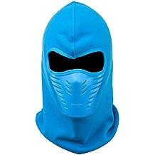 faithyoo Deportes al aire libre resistente al viento máscara de polvo PM2.5mouth-muffle Motorcycle Riding Máscara de carbono–Filtro protector térmico–Bufanda multifuncional (Azul Oscuro) azul azul