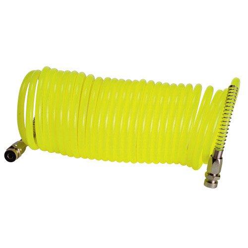 Druckluftschlauch Nylon Spiral Maurer Ø 6X8 mm Länge 7,5 m Yellow