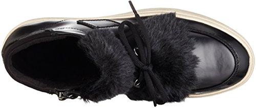 Tamaris 25058, Scarpe da Ginnastica Alte Donna Nero (BLACK BRU./BLK 015)